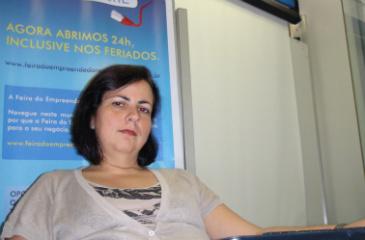 Para Concei��o Morais, do Sebrae, � preciso definir o foco no cliente. Foto: Elian Balbino/DP/D.A Press
