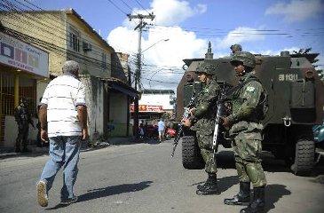 Pessoal e equipamentos do Rio Grande do Sul e Paran� ser�o deslocados para garantir a pacifica��o, a partir de 31 de maio. Foto: Fernando Fraz�o/Ag�ncia Brasil/Arquivo