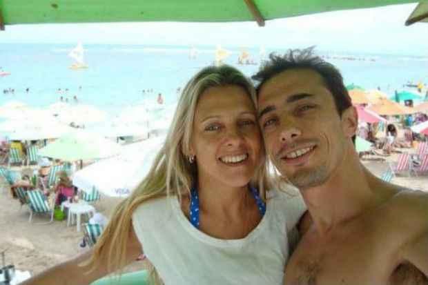 Gracielle e Leandro: por enquanto, as provas colhidas pela pol�cia ga�cha incriminam apenas a madrasta (Foto: Facebook.com/Reprodu��o)