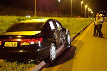 � pol�cia, testemunhas relataram que o motorista dirigia em alta velocidade e fazia ultrapassagens perigosas. Foto: Carolina Samorano/CB/D.A Press