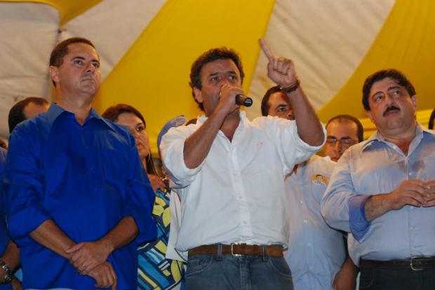A�cio afirmou que ainda n�o h� defini��o de quem concorrer� a vice-presidente. Foto: Ines Campelo/DP/D.A Press (Ines Campelo/DP/D.A Press)