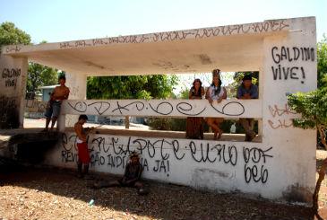 O rapaz que cumpriu medida socioeducativa pela morte do �ndio em uma parada de �nibus est� na �ltima fase de sele��o. Foto: Carlos Vieira/CB/D.A Press