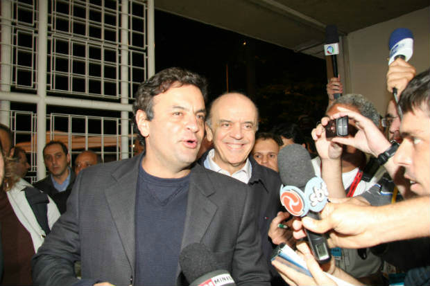FHC teria levado a ideia da chapa ao senador A�cio Neves. Foto: Marcos Michelin/EM/D.A Press  (Marcos Michelin/EM/D.A Press  )