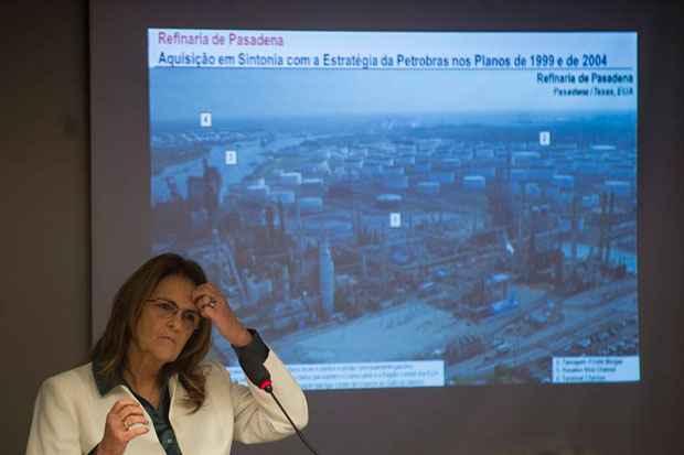 A presidenta da Petrobras, Gra�a Foster, participa de audi�ncia p�blica das comiss�es de Minas e Energia e Fiscaliza��o Financeira e Controle da C�mara. Foto: Marcelo Camargo/Ag�ncia Brasil