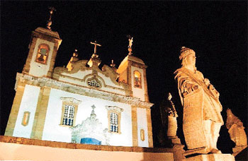 Os profetas, expostos no Santu�rio do Bom Jesus de Matosinhos, s�o algumas das obras que podem ser vistas em detalhes no site. Foto: Carlos Altman