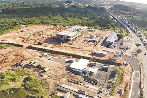 Em 2013, Novartis adquiriu um terreno vizinho de 13 hectares e, agora, outra �rea de quatro hectares est� sendo alugada (Novartis/Divulga��o)
