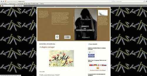 Blog de Polyanna: a solu��o para os obst�culos veio com o apoio tanto na internet como fisicamente, em reuni�es do Nar-Anon. Foto: Reprodu��o