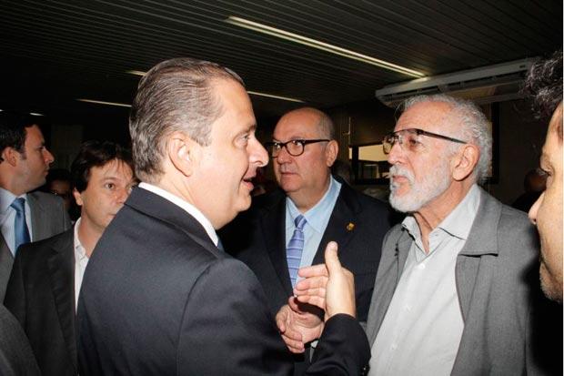 Campos disse que esta � uma quest�o a ser decidida entre os dirigentes do partido em Minas. Foto: Sidney Lopes/EM/D.A Press
