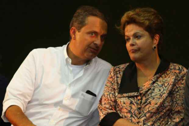 Rela��o de Eduardo e Dilma estava extremecida desde 2012, quando o PSB lan�ou candidato pr�prio � Prefeitura do Recife, mas s� piorou no ano passado (clarice Almeida/DP/D.A Press)