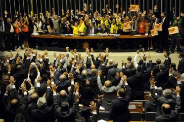 Plen�rio da C�mara vota o piso nacional: aprova��o por unanimidade Foto: Bruno Peres/CB/D.A Press (Bruno Peres/CB/D.A Press)