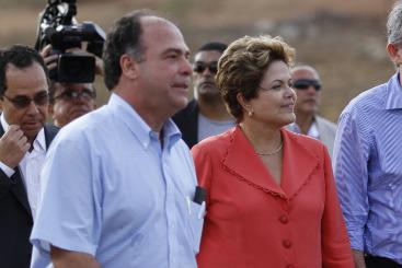 A rela��o do ex-ministro com a presidente Dilma sempre foi muito boa (Blenda Souto Maior/DP/DA Press)