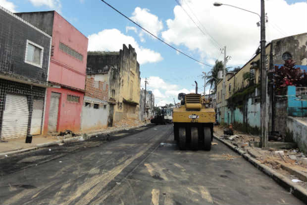 Inadimpl�ncia do IPTU restringe investimentos na cidade, como obras de infraestrutura (Glynner Brand�o/DP/D.A Press)