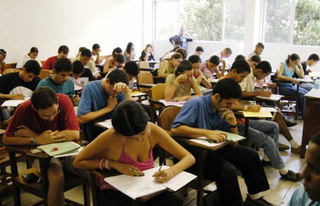 Enem � fase obrigat�ria no acesso � universidades p�blicas federais do pa�s inteiro (Edvaldo Rodrigues/DP/D.A Press)