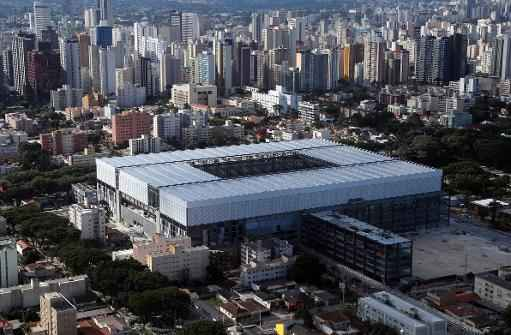 Est�dio Arena da Baixada, em Curitiba. Foto: Orlando Kissner/AFP Photo