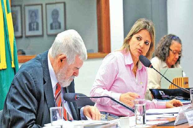 Fl�via Moraes na CPI que examinou m�ltiplas faces do problema. Foto: Gabriela Korossy/Ag�ncia C�mara  (Gabriela Korossy/Ag�ncia C�mara )
