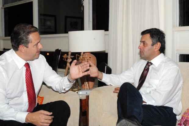 Eduardo lembrou que a uni�o do PSB com o PSDB de Minas existe desde a reelei��o de A�cio (2006) para o governo. Foto: Humberto Pradera/Divulgacao (Humberto Pradera/Divulgacao)