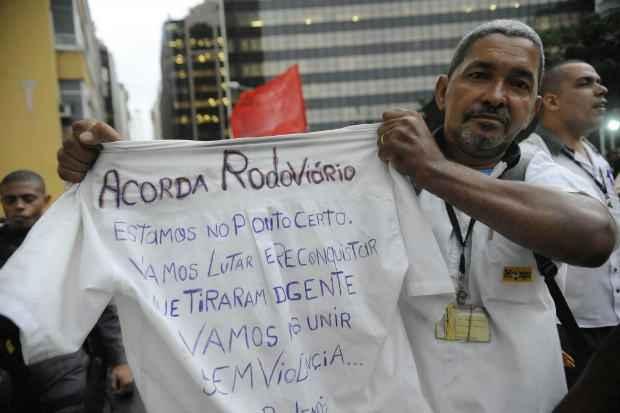 Rodovi�rios aguradam decis�o da Justi�a. Foto: Fernando Fraz�o/Ag�ncia Brasil (Fernando Fraz�o/Ag�ncia Brasil)