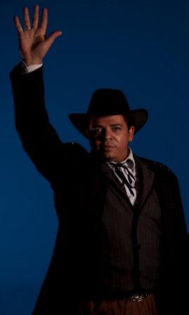 Músico Clayton Barros. Foto: Facebook Os sertões/Reprodução