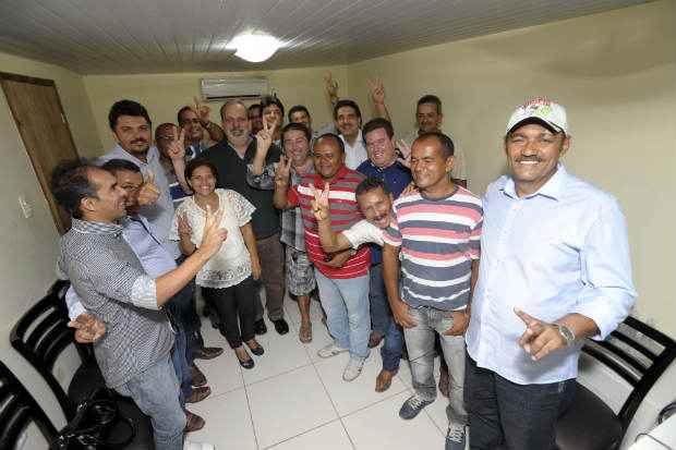 Chapa de Armando Monteiro recebe apoio de dissidentes do PSB. Foto: L�o Caldas/Divulga��o  (L�o Caldas/Divulga��o )