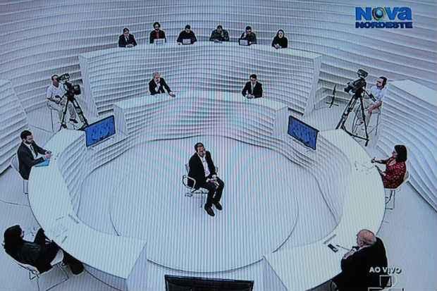 Eduardo Campos participou do Roda Viva nesta segunda-feira. Foto: TV Cultura/Reproducao (TV Cultura/Reproducao)