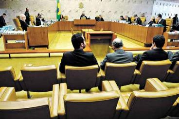 Quando um ministro deixa o STF, os processos s�o repassados ao substituto. Foto: Carlos Moura/CB/D.A Press (Carlos Moura/CB/D.A Press)