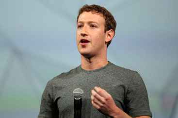 O CEO do Facebook, Mark Zuckerberg, numa conferência em San Francisco. Foto: Justin Sullivan/AFP Photo