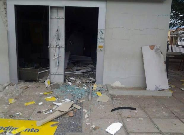 A ação criminosa aconteceu por volta das 2h30 da madrugada deste sábado. Foto: PF/ Divulgação  </p> <p>