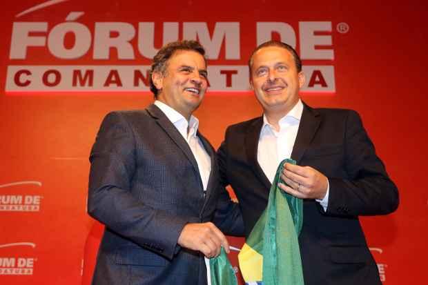 Rela��o do tucano com o partido do ex-governador Eduardo Campos (PSB) estremeceu por conta de alian�as e palanques estaduais, como Minas Gerais e S�o Paulo. Foto: Gustavo Rampini/CB/D.A. Press