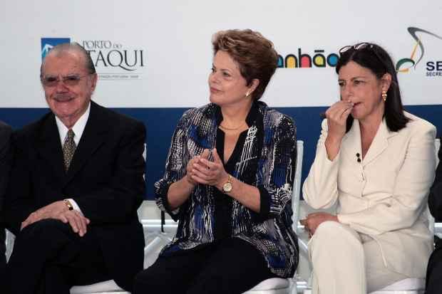 No Maranh�o, o PT � um dos grandes aliados da fam�lia Sarney. Foto: Hon�rio Moreira/OIMP/D.A Press