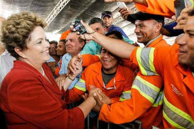 A agenda em Pernambuco segue o formato de eventos realizados em outros estados pelo partido, como em Minas Gerais. Foto: Roberto Stuckert Filho/PR (Roberto Stuckert Filho/PR)