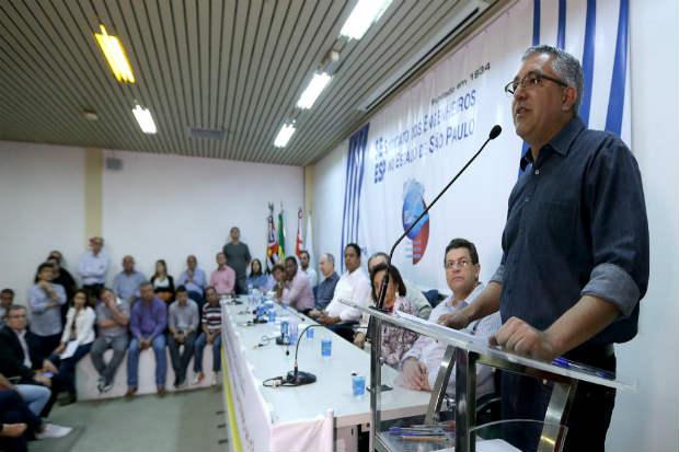 Padilha disse que seu partido se preparou para esta campanha. Foto: Paulo Pinto/ANALITICA (Paulo Pinto/ANALITICA)
