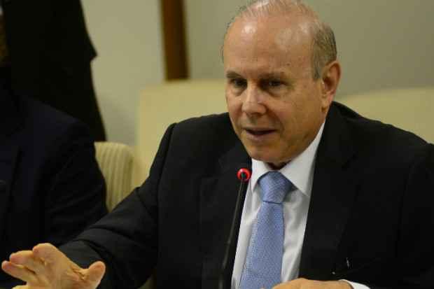 Ministro argumentou que o c�mbio est� est�vel no Pa�s. Foto: Ed Alves/CB/D.A Press