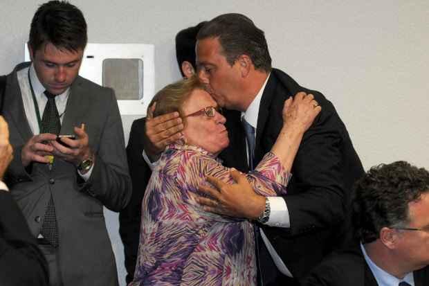Apesar de discordar de Campos sobre revis�o da legisla��o, Luiza Erundina foi uma das maiores defensoras da candidatura presidencial do pernambucano pelo PSB. Foto: Carlos Moura/CB/D.A Press
