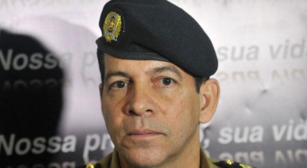 Coronel Ricardo Machado, ex-assessor da Secretaria de Defesa Social, assume nove unidades estrat�gicas. Foto: Leandro Couri/EM/D.A. Press