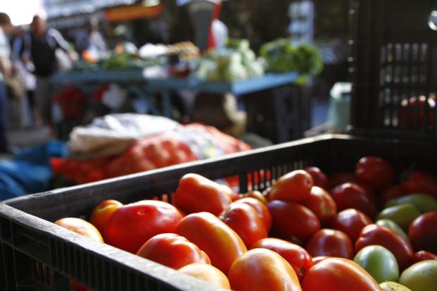 Tomate foi o vil�o da cesta b�sica no Recife em maio, com alta de quase 29%. Foto: Ricardo Fernandes/DP/D.A Press