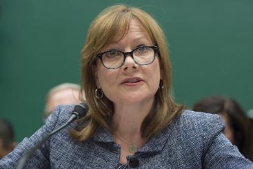 A diretora executiva da General Motors, Mary Barra. Foto: � AFP JIM WATSON (A diretora executiva da General Motors, Mary Barra. Foto: � AFP JIM WATSON)