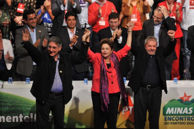 Ex-presidente Lula � o maior cabo eleitoral da presidente. Foto: Alexandre Guzanshe/EM/D.A Press