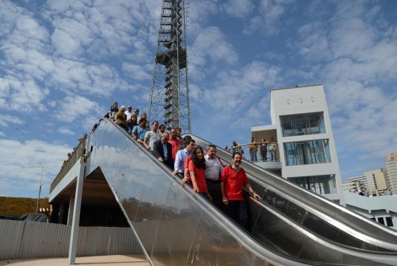 ( Complexo Tur�stico da Torre de TV de Bras�lia � revitalizado e reaberto para visita��oValter Campanato/Ag�ncia Brasil)