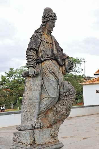 Profeta Daniel � uma das pe�as declaradas patrim�nio da humanidade. Foto: M�rcio Carvalho/Divulga��o
