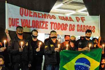 Sindicalistas alertam: manifesta��es suspensas poder�o ser retomadas. Foto: Marcos Vieira/EM/D.A Press