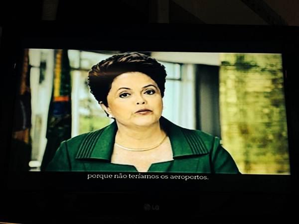 Segundo Dilma Rousseff, os pessimistas