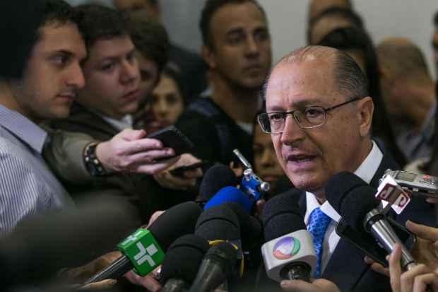 Alckmin voltou a ressaltar nesta ter�a que as demiss�es n�o ser�o revistas. Foto: Edson Lopes Jr/A2 Fotografia (Edson Lopes Jr/A2 Fotografia)