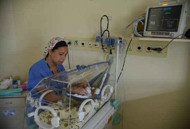 Dados da Sociedade Brasileira de Pediatra indicam que, em cada mil beb�s nascidos vivos, de oito a dez podem apresentar malforma��es cong�nitas. Foto: Fabio Rodrigues Pozzebom (Fabio Rodrigues Pozzebom)