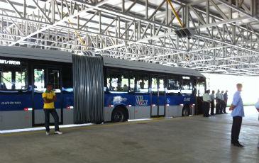 O Terminal Integrado Cosme e Dami�o ter� circula��o do BRT (Bus Rapid Transit). Foto: Ros�lia Range�/DP/D.A Press ( Ros�lia Range�/DP/D.A Press)
