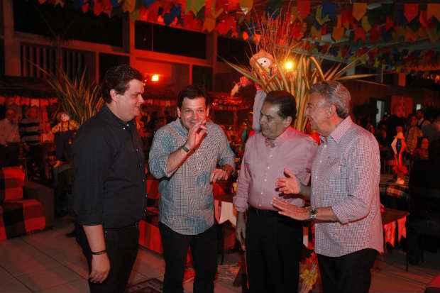 Wolney Queiroz, Geraldo Julio, Jo�o Lyra Neto e Jos� Queiroz. Cr�dito: Rafael Lima/Divulga��o. (Rafael Lima/Divulga��o)
