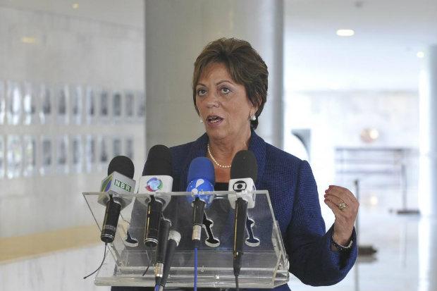 Em dezembro passado, Rosalba foi cassada pelo Tribunal Regional Eleitoral do Rio Grande do Norte, acusada de abuso de poder pol�tico e econ�mico. Foto: Ag�ncia Brasil (Ant�nio Cruz/Ag�ncia Brasil)