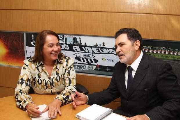 Miriam Lacerda e Tony Gel. Foto: Edvaldo Rodrigues/DP/D.A Press