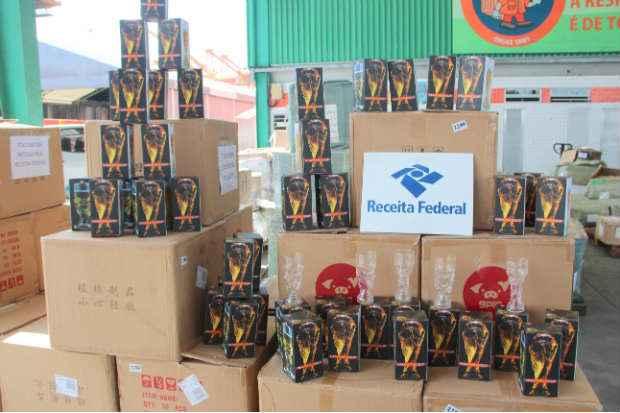 Pelos c�lculos da Receita, o valor de venda das ta�as poderia atingir mais de R$ 20 mil (Receita Federal/Divulga��o)