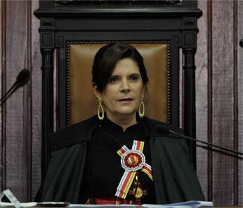Maria Elizabeth defendeu igualdade de direitos para militares homossexuais. Foto: Jos� Cruz/ABr