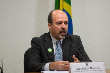 A Comiss�o Parlamentar de Inqu�rito (CPI) da Petrobras no Senado ouve o gerente de Engenharia de Custos da Petrobras, Alexandre Rabello. Foto: Marcelo Camargo/Ag�ncia Brasil